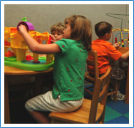 Children's playroom at Memphis ENT
