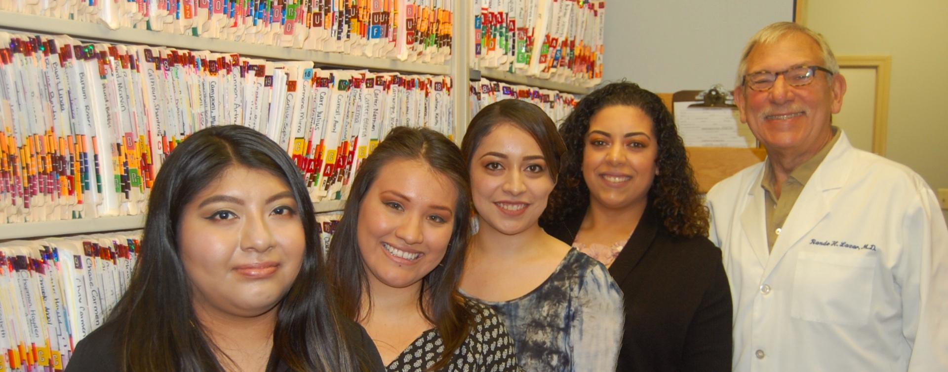 Dr. Rande Lazar's staff at Memphis ENT